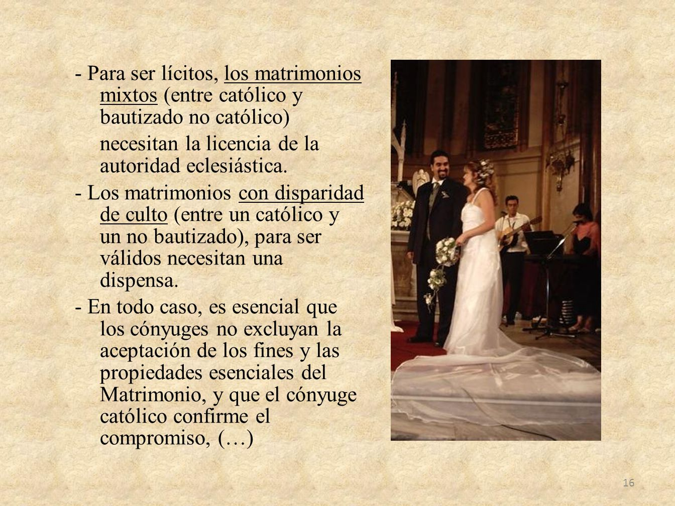 Matrimonio No Catolico : C u r s o para padres y catequistas de primera comunión