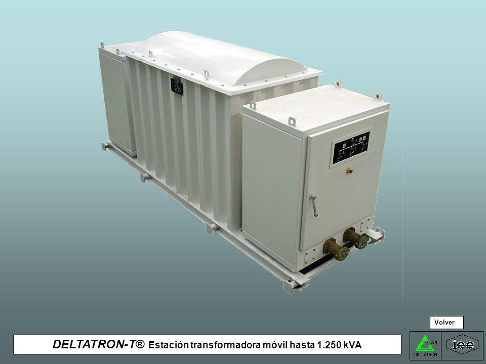 DELTATRON-T® Estación transformadora móvil hasta 1.250 kVA