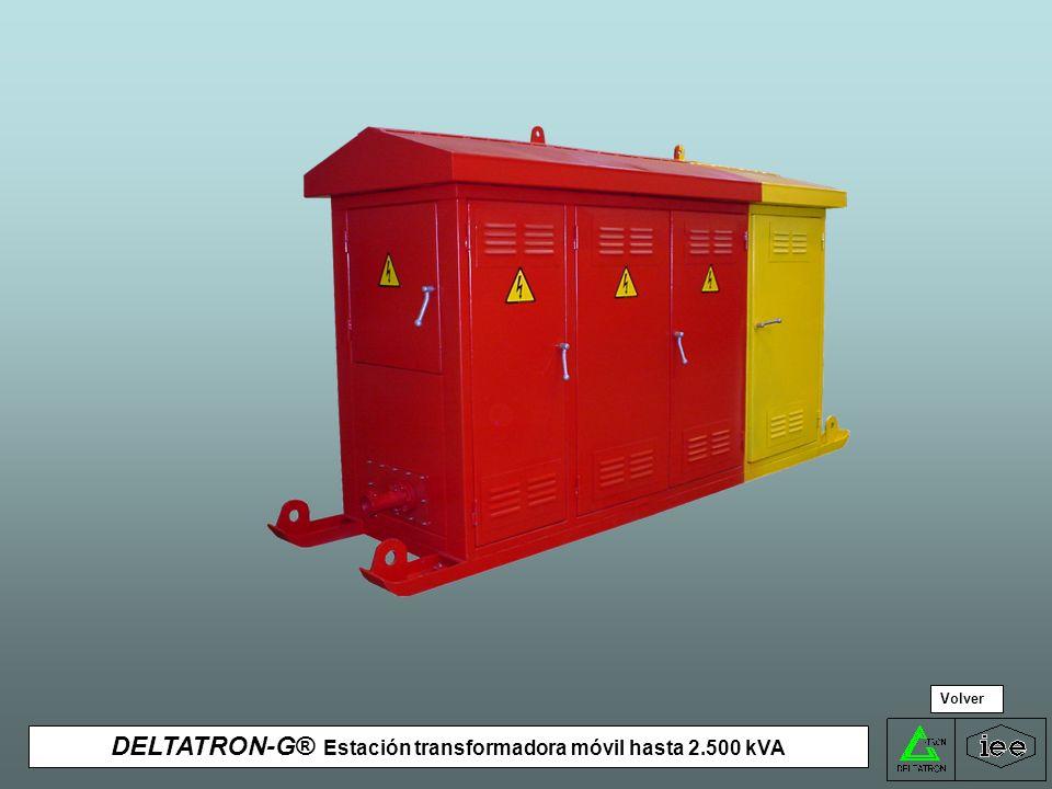 DELTATRON-G® Estación transformadora móvil hasta 2.500 kVA