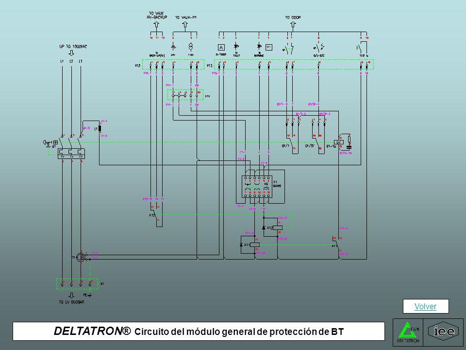 DELTATRON® Circuito del módulo general de protección de BT