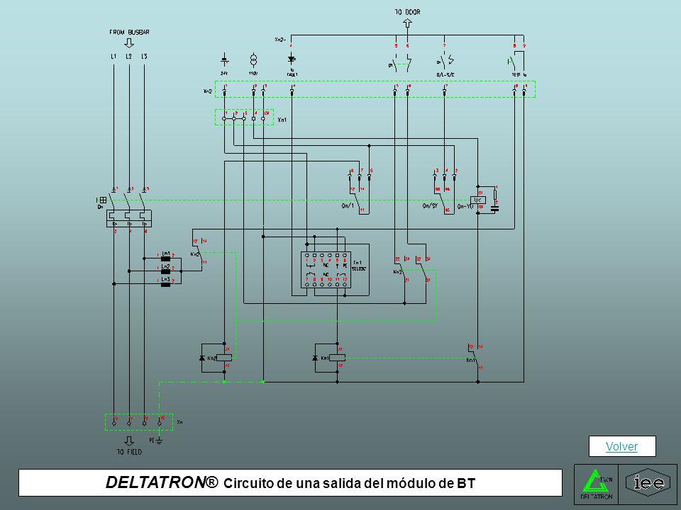DELTATRON® Circuito de una salida del módulo de BT