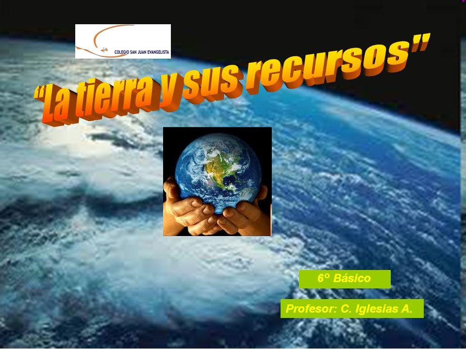 La tierra y sus recursos