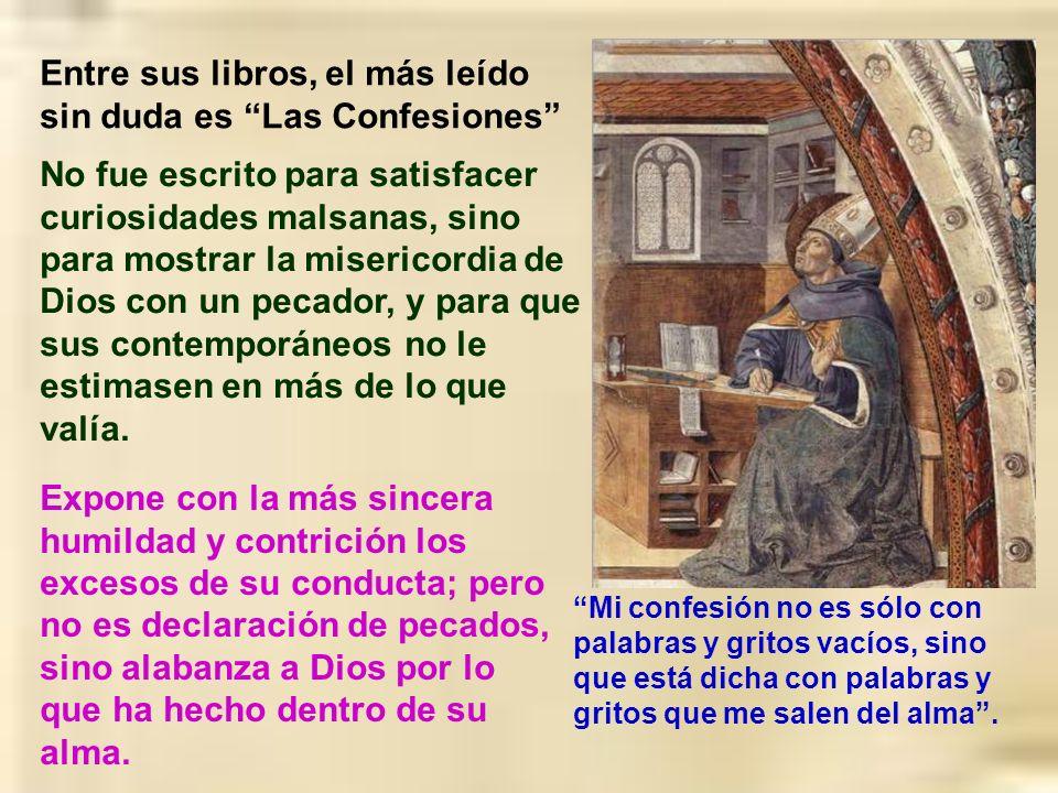 Entre sus libros, el más leído sin duda es Las Confesiones