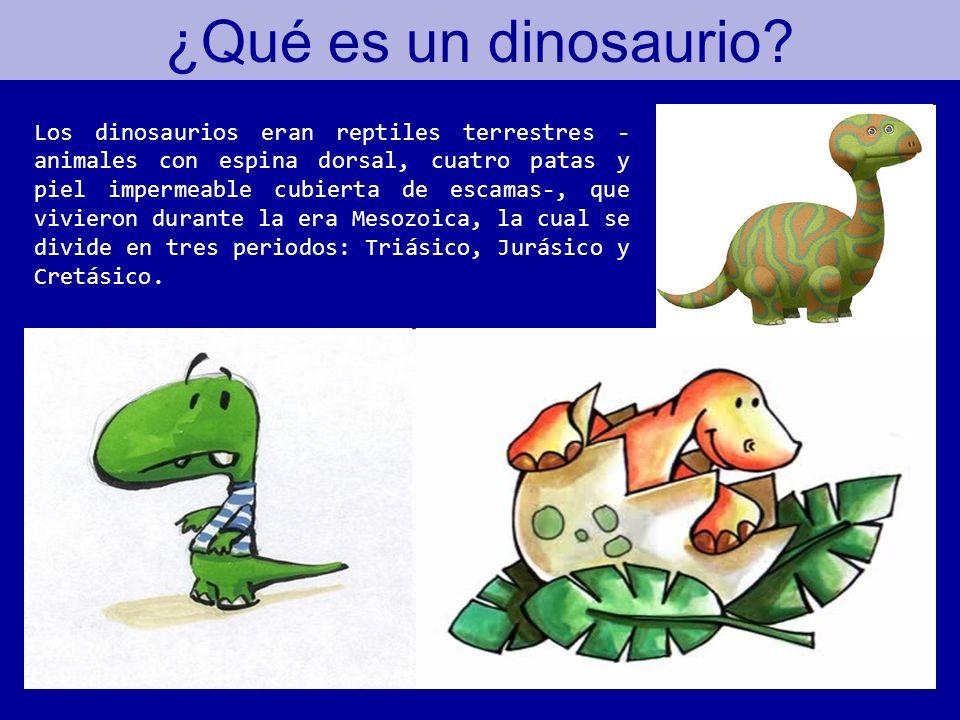 ¿Qué es un dinosaurio