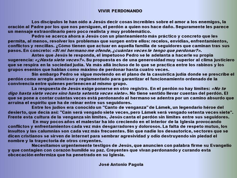 VIVIR PERDONANDO
