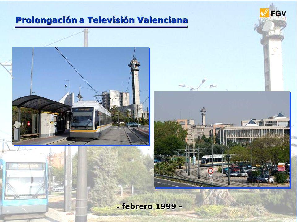 Prolongación a Televisión Valenciana