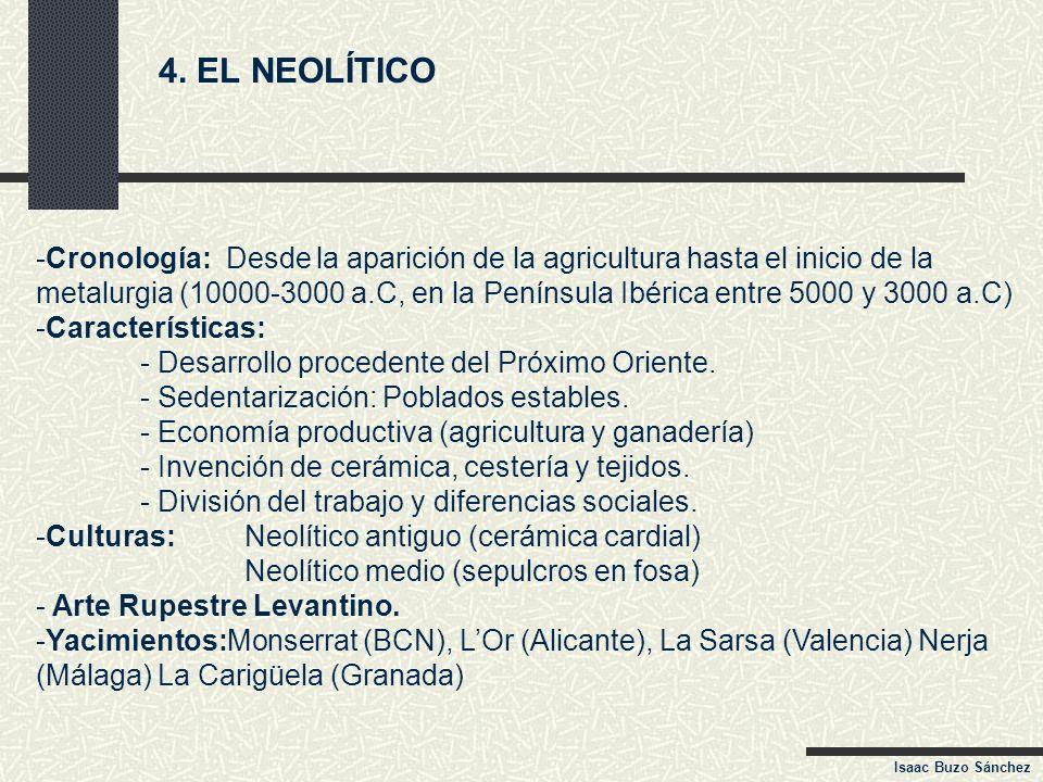 4. EL NEOLÍTICO