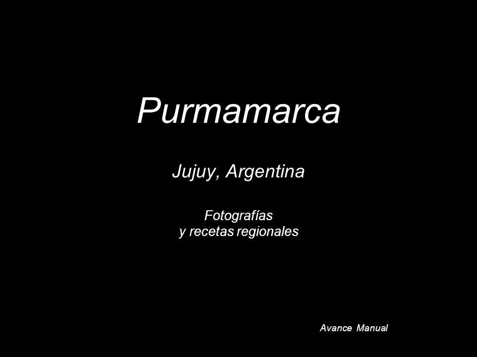 Purmamarca Jujuy, Argentina