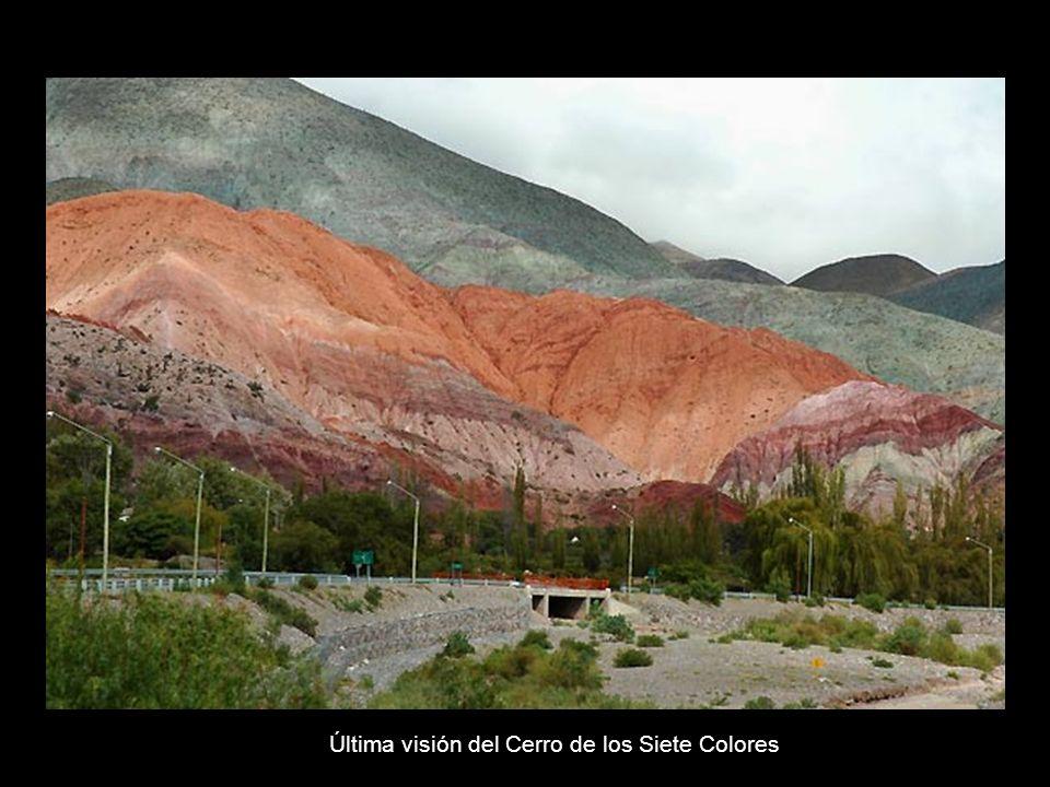 Última visión del Cerro de los Siete Colores