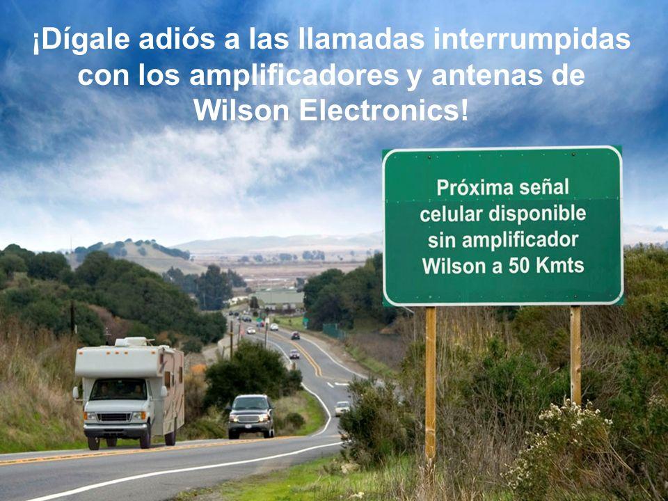 ¡Dígale adiós a las llamadas interrumpidas con los amplificadores y antenas de Wilson Electronics!
