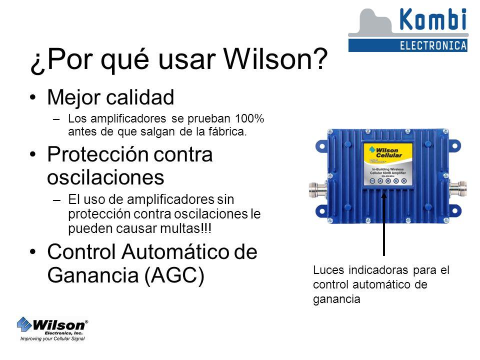 ¿Por qué usar Wilson Mejor calidad Protección contra oscilaciones