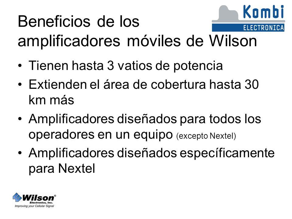 Beneficios de los amplificadores móviles de Wilson