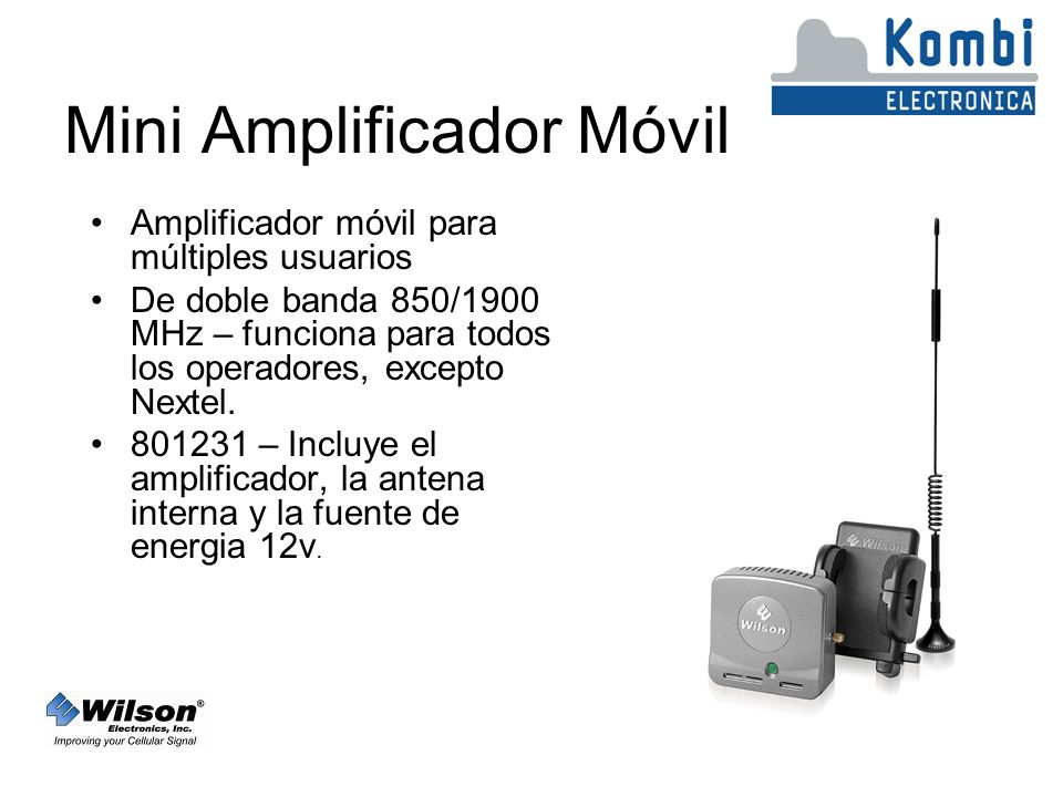 Mini Amplificador Móvil