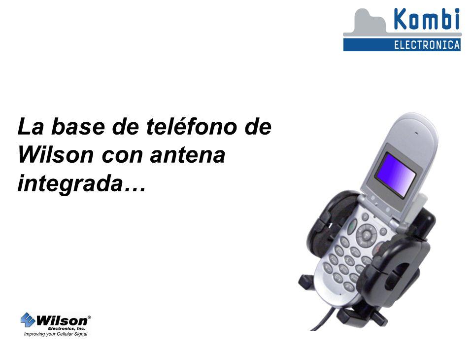 La base de teléfono de Wilson con antena integrada…