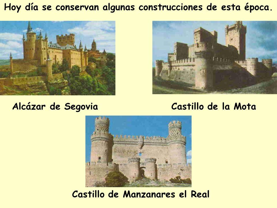Hoy día se conservan algunas construcciones de esta época.