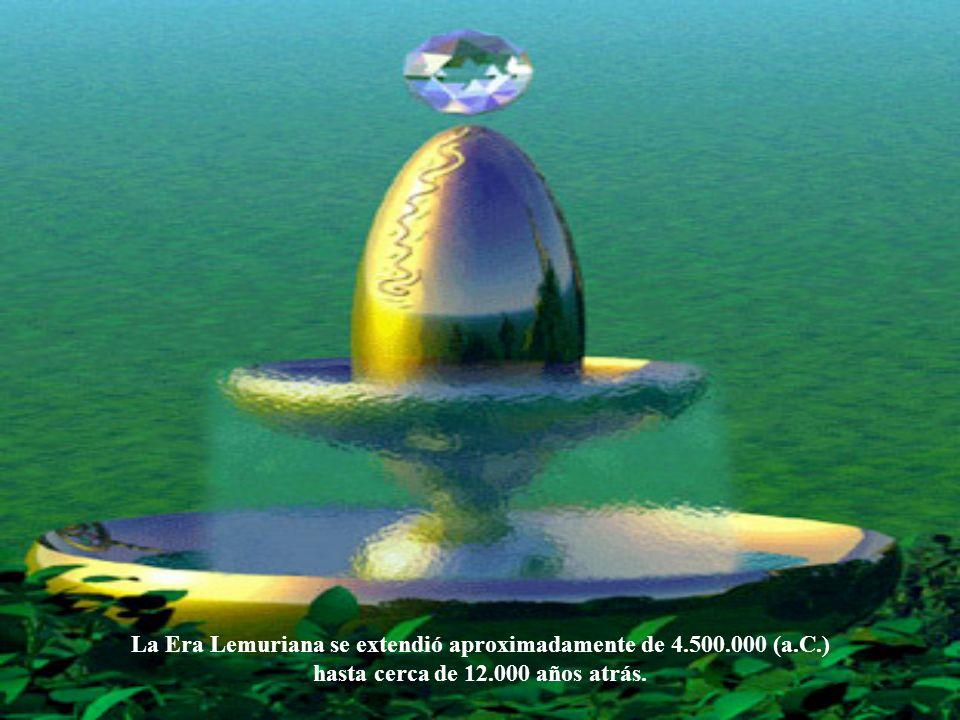La Era Lemuriana se extendió aproximadamente de 4.500.000 (a.C.)