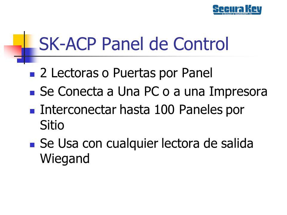 SK-ACP Panel de Control
