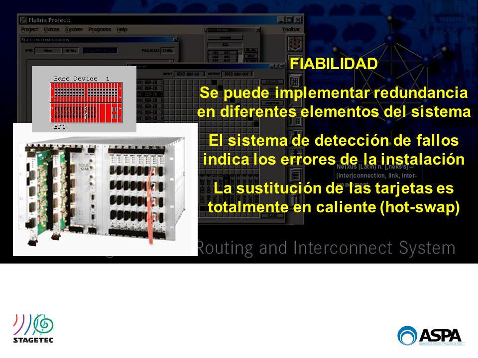 Se puede implementar redundancia en diferentes elementos del sistema