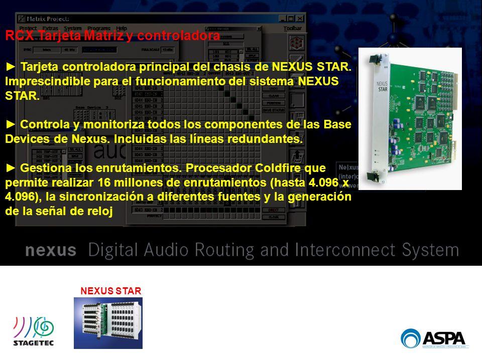 RCX Tarjeta Matriz y controladora
