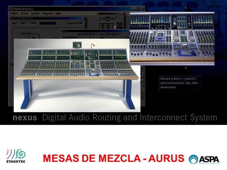 MESAS DE MEZCLA - AURUS