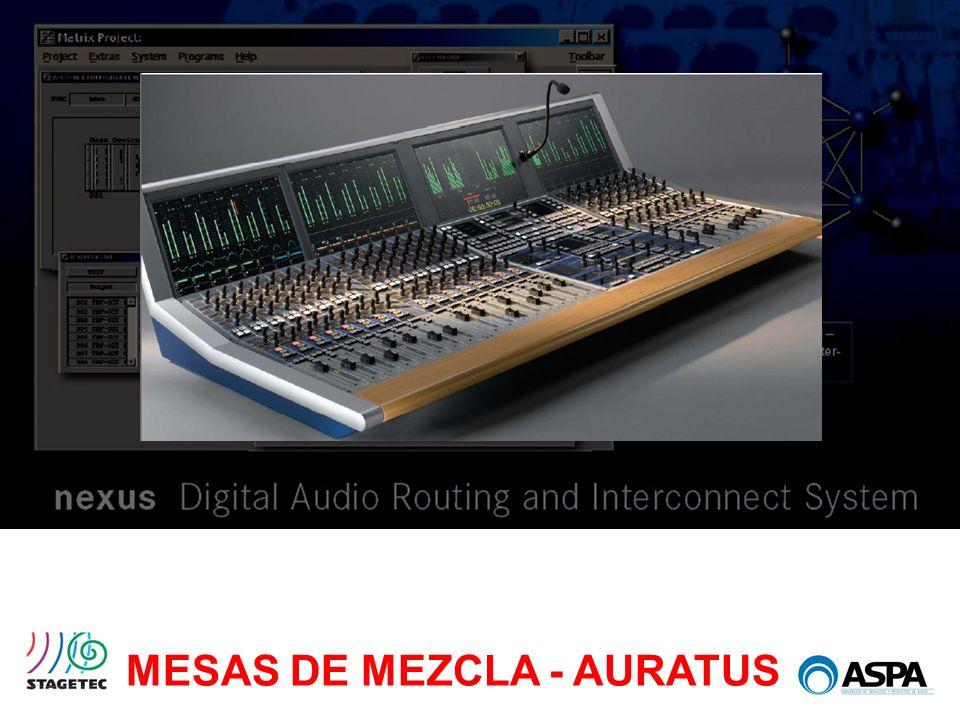 MESAS DE MEZCLA - AURATUS