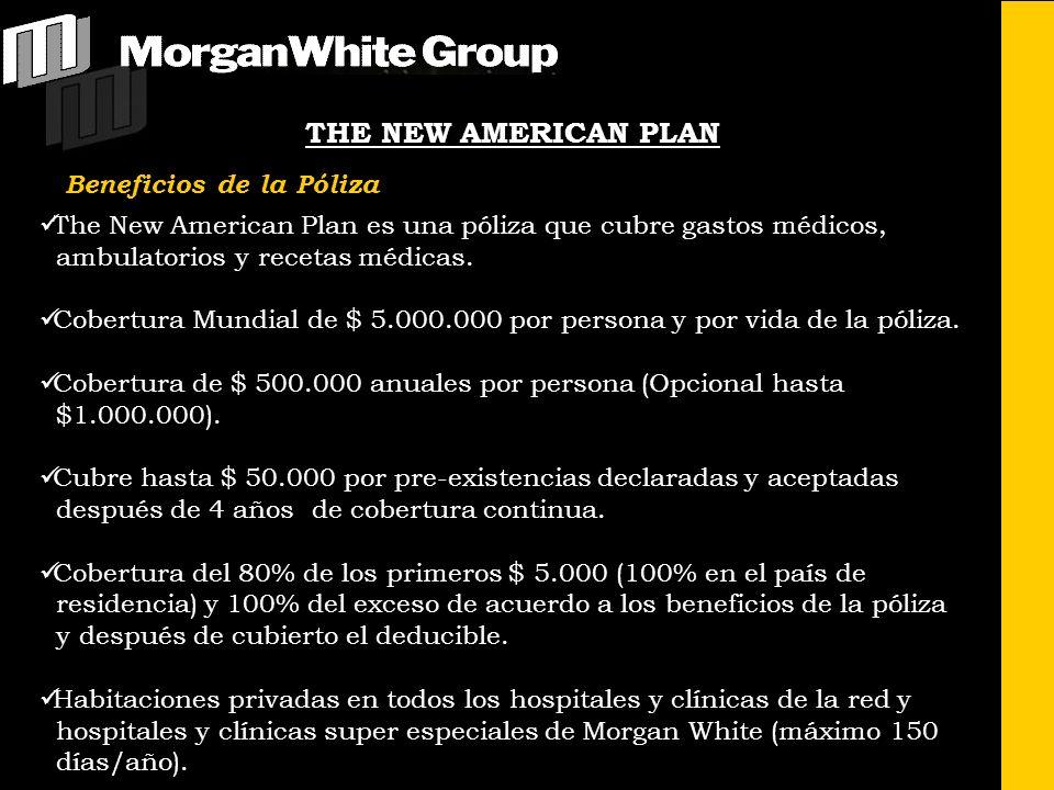 THE NEW AMERICAN PLAN Beneficios de la Póliza