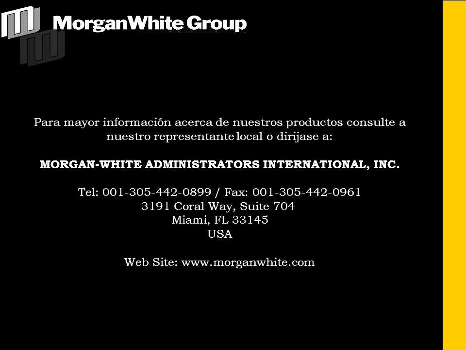 MORGAN-WHITE ADMINISTRATORS INTERNATIONAL, INC.