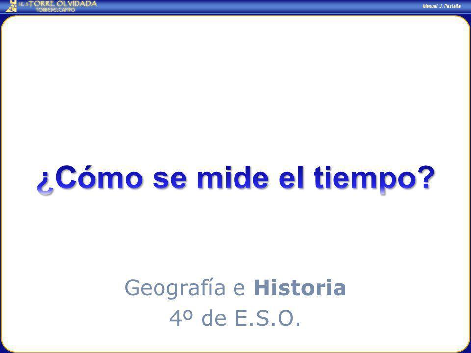 Geografía e Historia 4º de E.S.O.