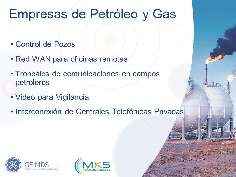 Empresas de Petróleo y Gas