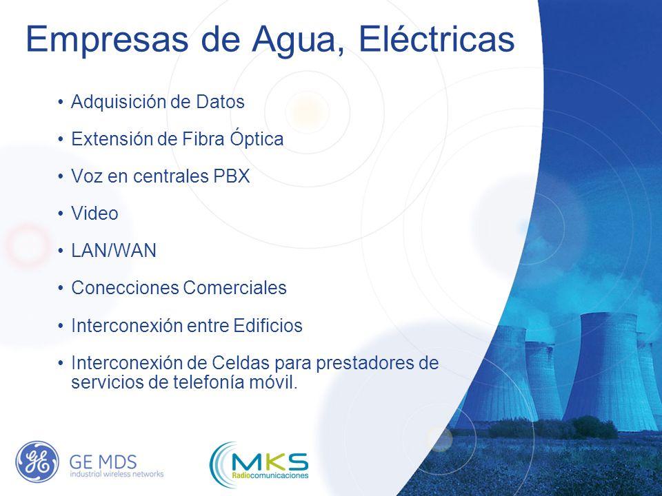 Empresas de Agua, Eléctricas