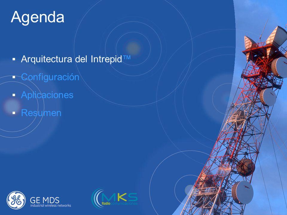 Agenda Arquitectura del Intrepid™ Configuración Aplicaciones Resumen