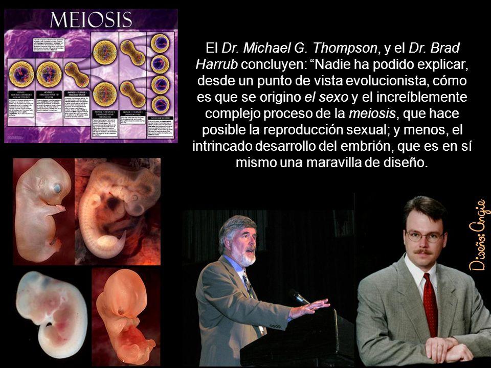 El Dr. Michael G. Thompson, y el Dr
