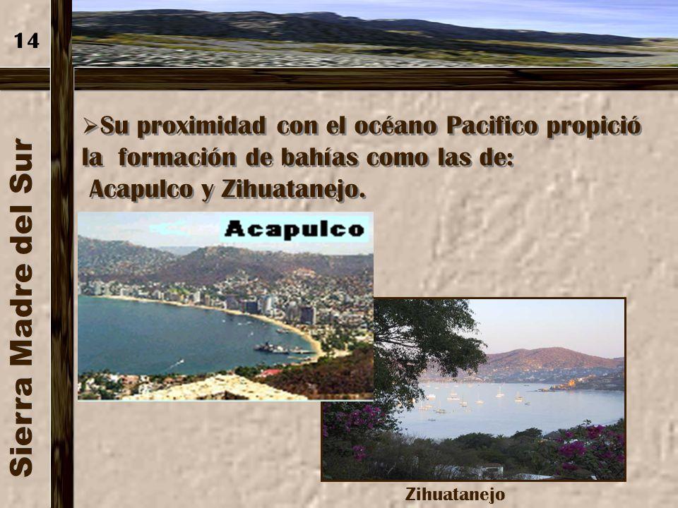 Sierra Madre del Sur Acapulco y Zihuatanejo. 14