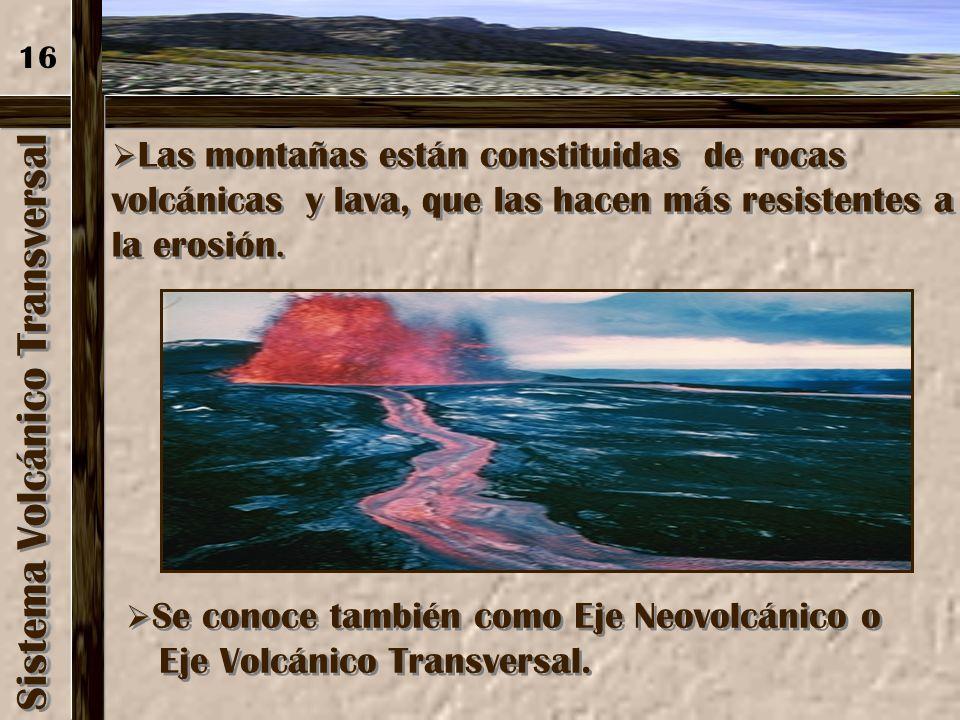 Sistema Volcánico Transversal