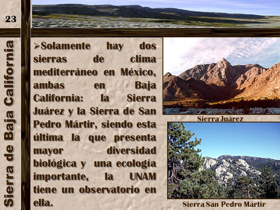 Sierra de Baja California