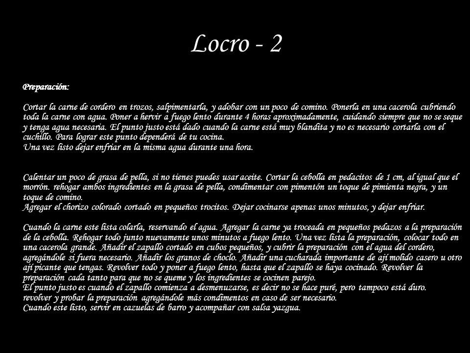 Locro - 2