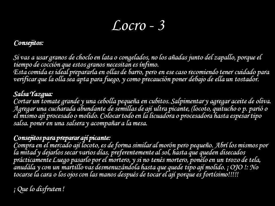 Locro - 3