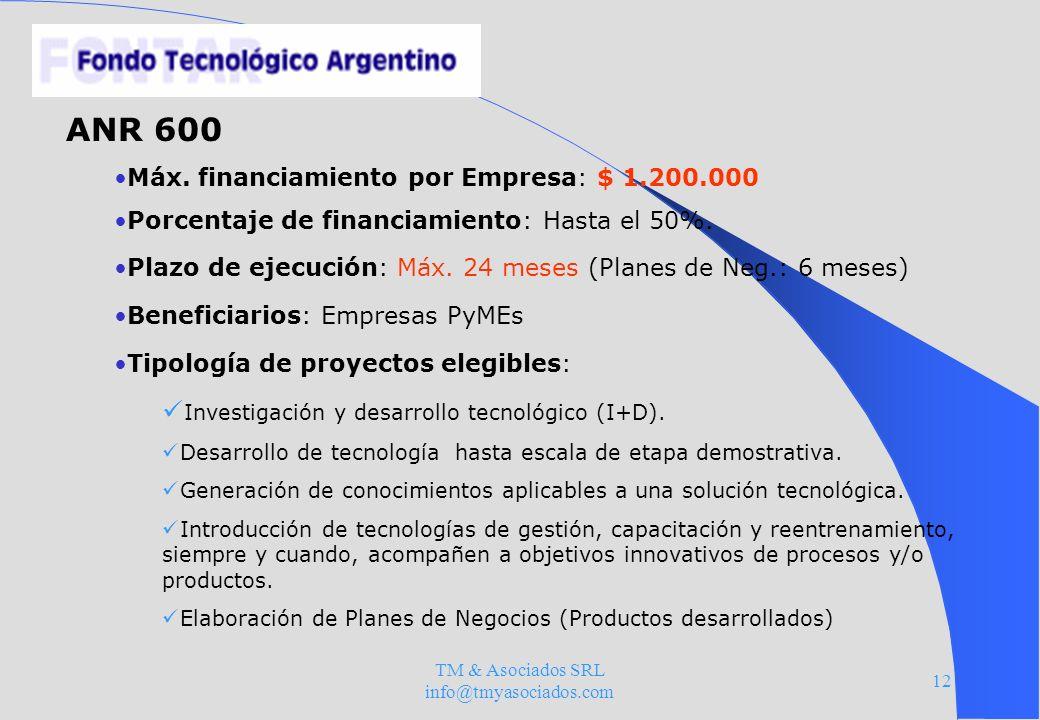 TM & Asociados SRL info@tmyasociados.com