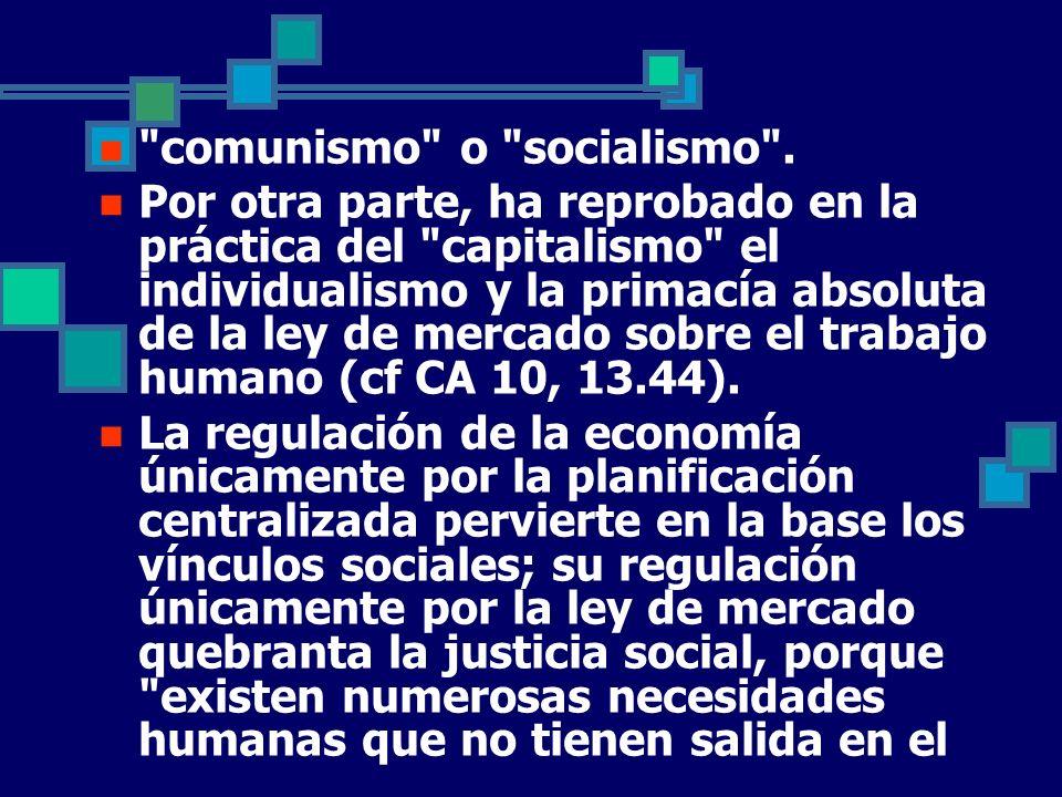 comunismo o socialismo .
