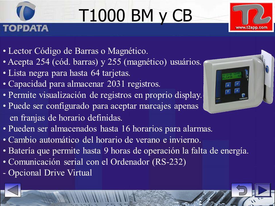 T1000 BM y CB