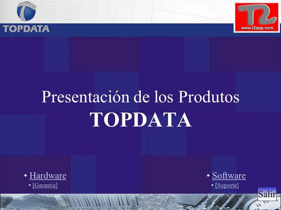 Presentación de los Produtos TOPDATA