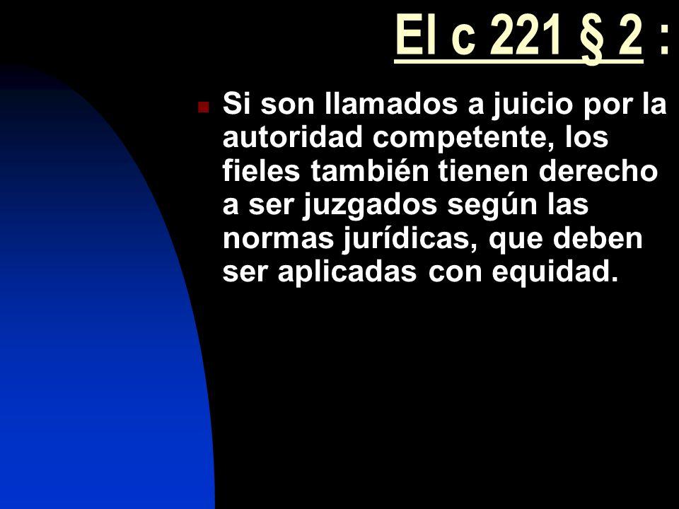 El c 221 § 2 :