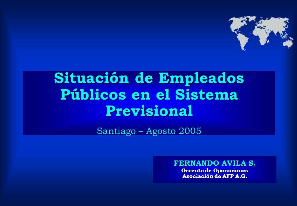 FERNANDO AVILA S. Gerente de Operaciones Asociación de AFP A.G.