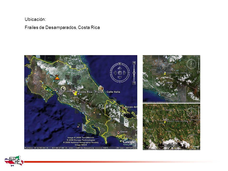 Ubicación: Frailes de Desamparados, Costa Rica