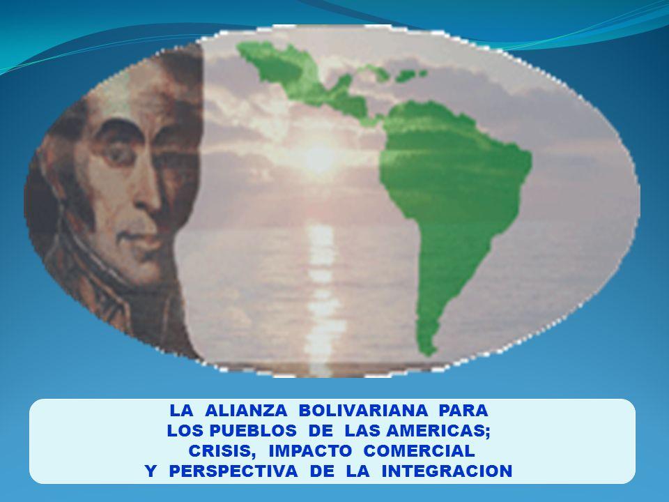 LA ALIANZA BOLIVARIANA PARA LOS PUEBLOS DE LAS AMERICAS;