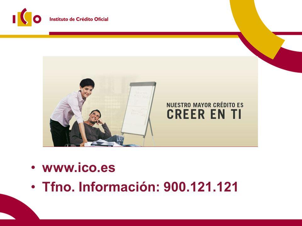 www.ico.es Tfno. Información: 900.121.121