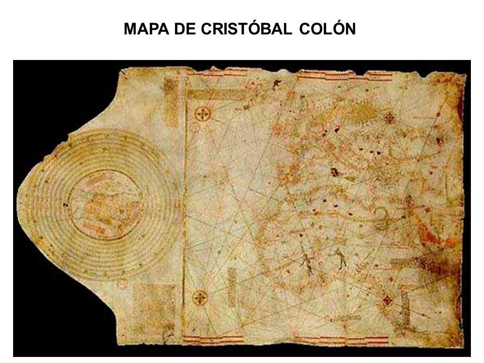 MAPA DE CRISTÓBAL COLÓN