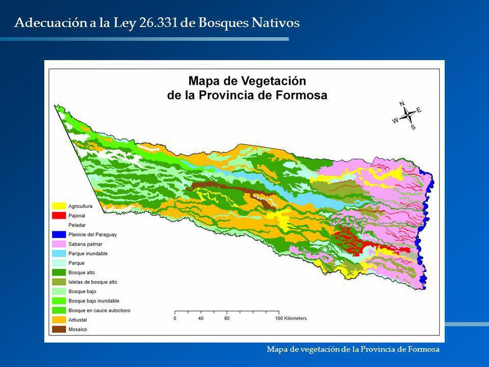 Adecuación a la Ley 26.331 de Bosques Nativos
