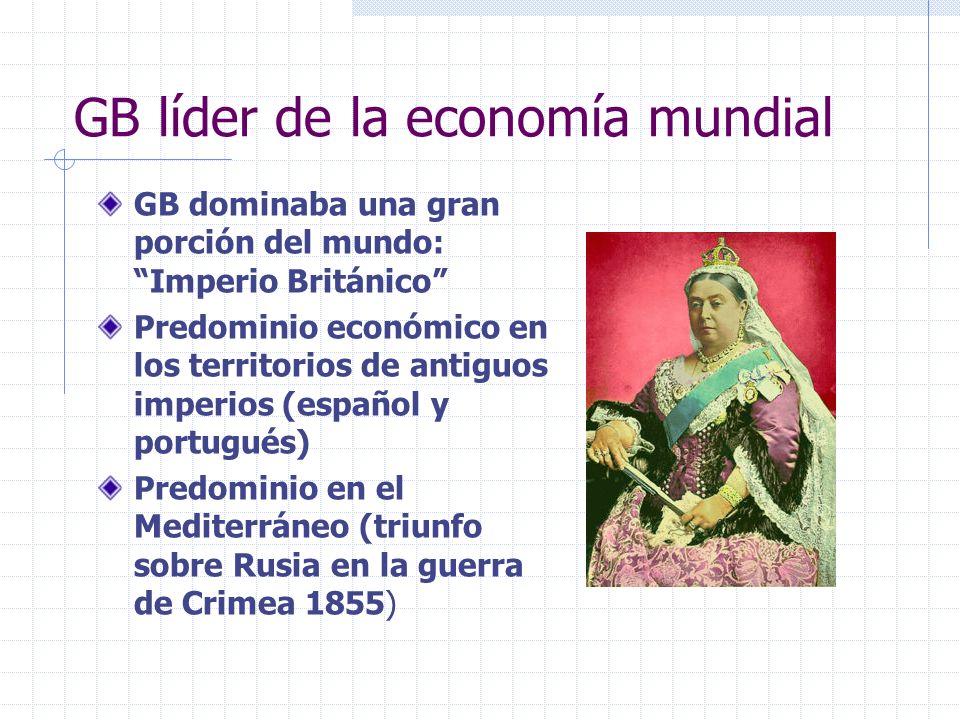 GB líder de la economía mundial