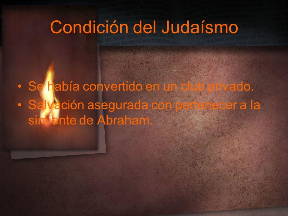 Condición del Judaísmo